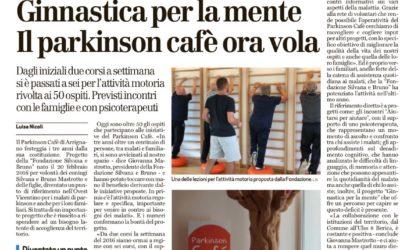 TRE ANNI DI PARKINSON CAFE'