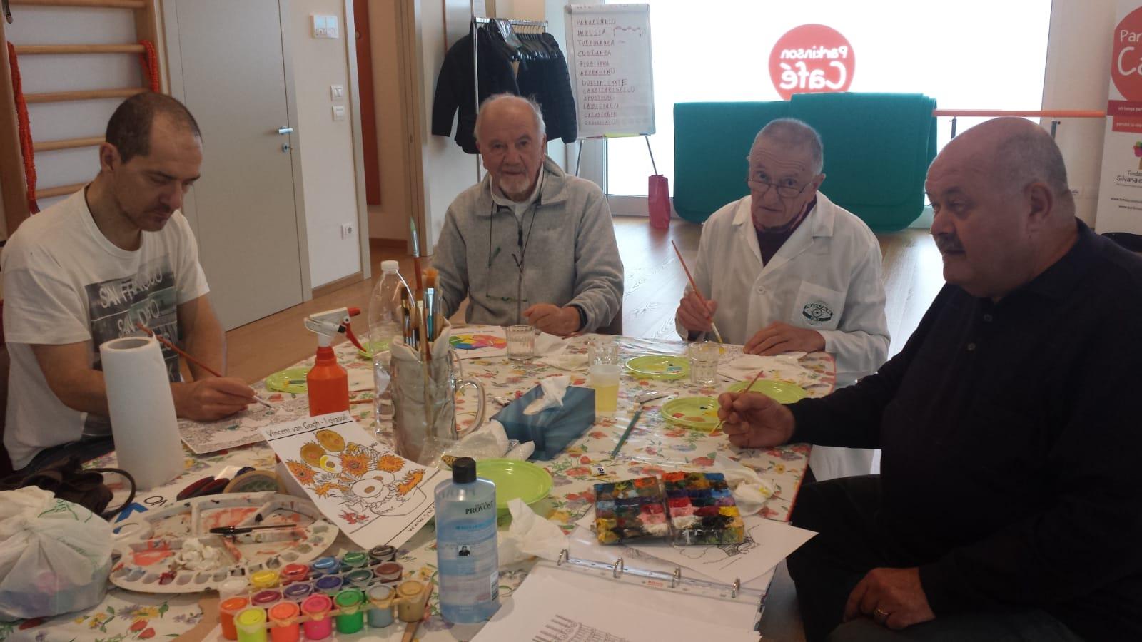 Parkinson Cafe corso pittura 1