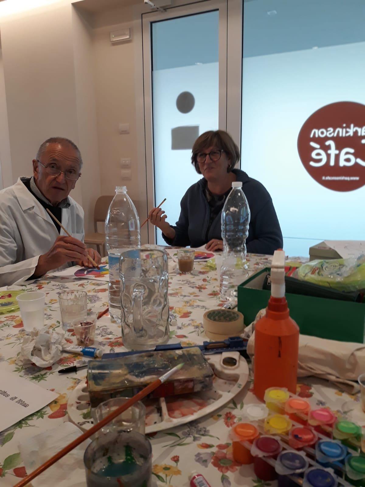 Corso pittura Parkinson cafe